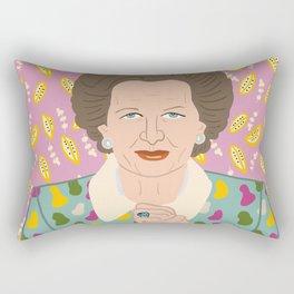 Margaret Thatcher Rectangular Pillow
