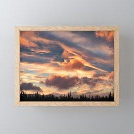 Good Morning Anchorage, Alaska Framed Mini Art Print