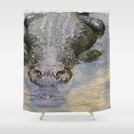 Gator Boy Shower Curtain