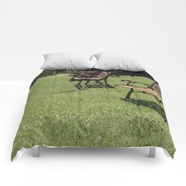 Lawn Chairs Lizard Comforters