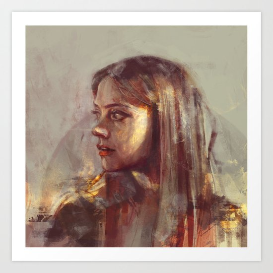 Remember me... Art Print