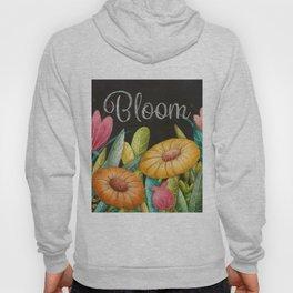 Bloom- Floral Pattern Hoody