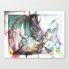 Bird Version II Canvas Print