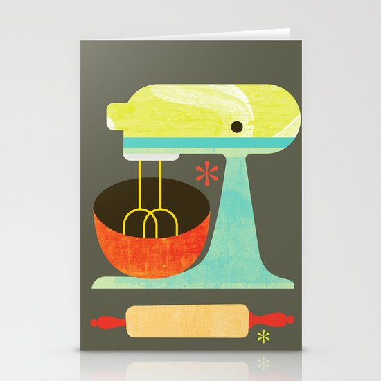 Kitchen Mix & Roll Stationery Cards