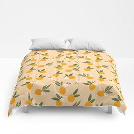 Cute Oranges Comforters