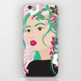 Floral & Feminine - Determined iPhone Skin