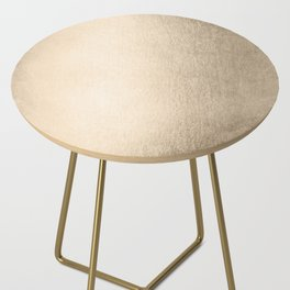 White Gold Sands Side Table