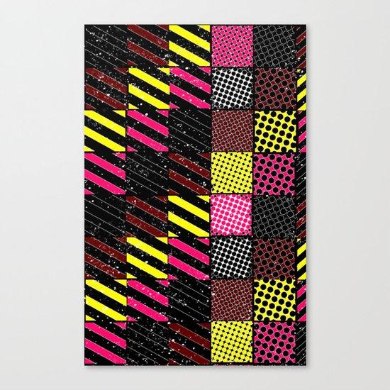 Crazier Pattern Canvas Print
