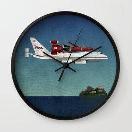 Thunderbird Carrier Wall Clock