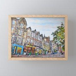 Grassmarket Dusk, Edinburgh Framed Mini Art Print