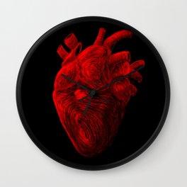 Tell Tale Heart Wall Clock