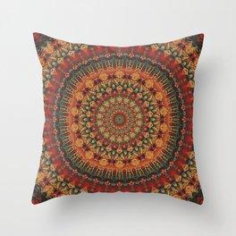 Mandala 563 Throw Pillow