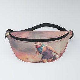 Fading into the Light Fanny Pack