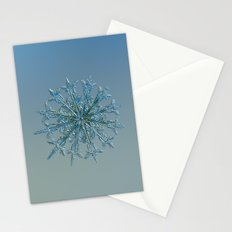 Snowflake photo - 12 Months Stationery Cards