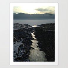 LAKE Art Print