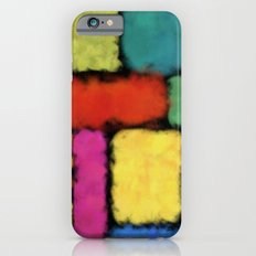 Tracks of colors iPhone 6s Slim Case