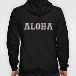 Distress Aloha Hawaii design | Vintage Hawaiian Island Tee Hoody