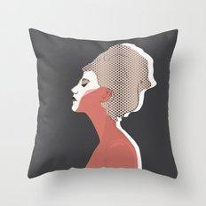 Think Twice Throw Pillow