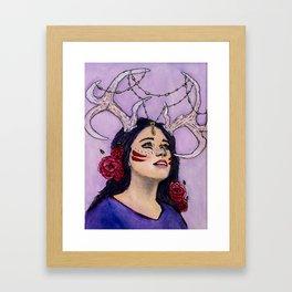 Belleza Framed Art Print