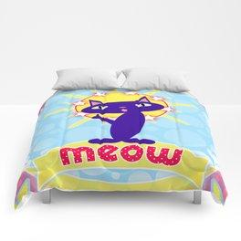 Feline Icon III Comforters