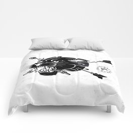 Dark Panther - W&B Comforters