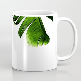 Green banana leaf Coffee Mug