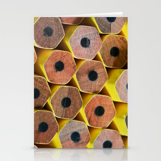 Pencil Tops Stationery Cards