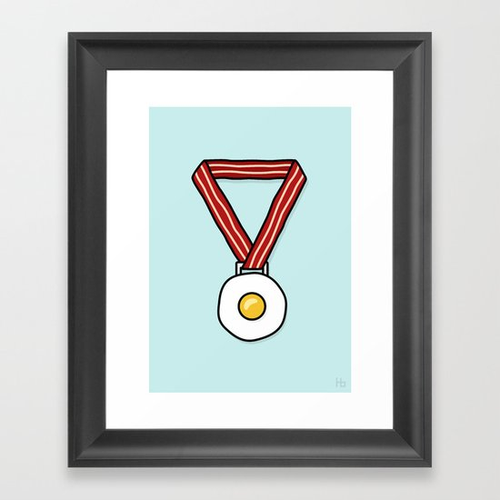 Breakfast of Champions Framed Art Print