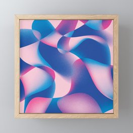 Abstract Flow Framed Mini Art Print