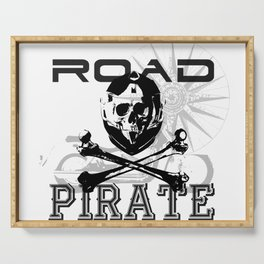 Road Pirates Serving Tray