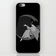 Crescent Melody iPhone & iPod Skin