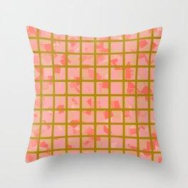 Zidni (Green) Throw Pillow