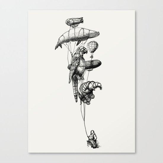 The Helium Menagerie Canvas Print