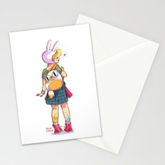 Nice backpack! Stationery Cards