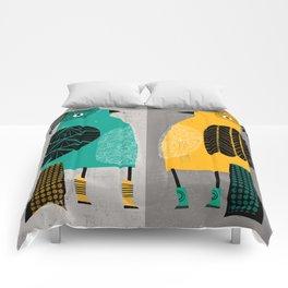 STANDING  BIRDS Comforters