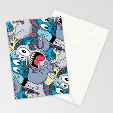 Mostly Blue Stationery Cards