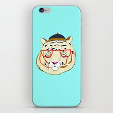 Rad Tiger iPhone & iPod Skin