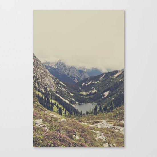 Mountain Flowers Canvas Print