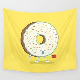 The Sleepy Donut Wall Tapestry
