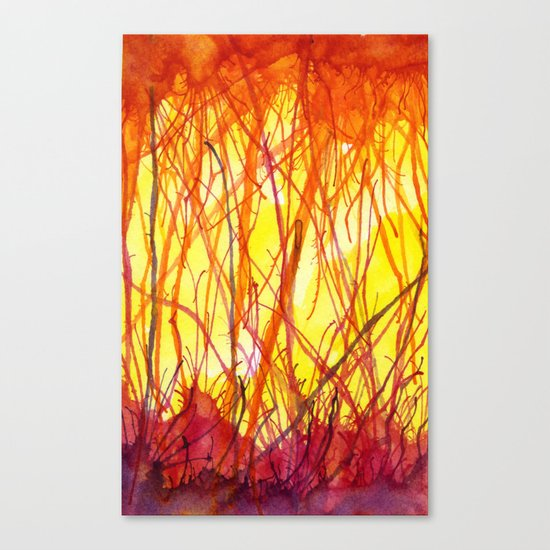 Hot Heat Ha! Canvas Print