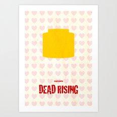 Capcom's Dead Rising Art Print