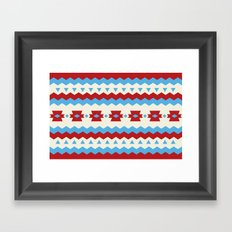 RIP Pattern Framed Art Print