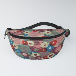 Mixed Flowers Fanny Pack