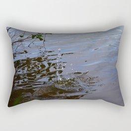 Water Drop Rectangular Pillow