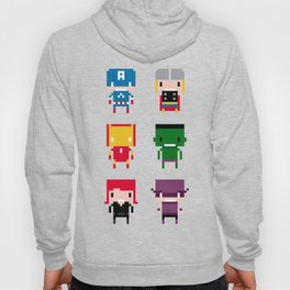 Pixel Avengers Hoody