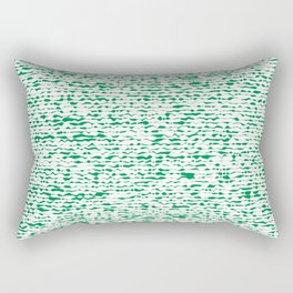 green abstract striped background Rectangular Pillow