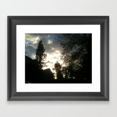 veins 2 Framed Art Print