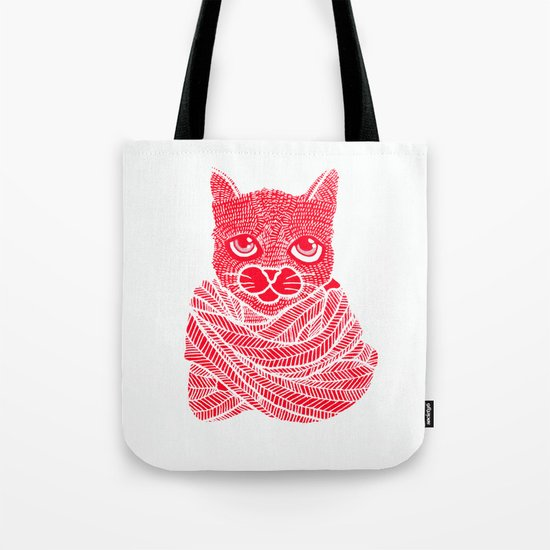 It's a Cat-Wrap Tote Bag
