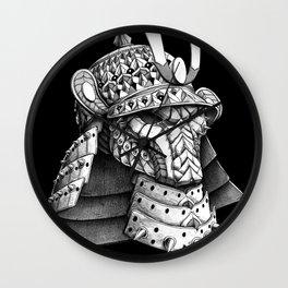 Samurai Helm Wall Clock
