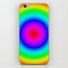 Rainbow Circle iPhone & iPod Skin